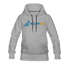 Load image into Gallery viewer, Women's McCann Dogs Hoodie - McCann Professional Dog Trainers