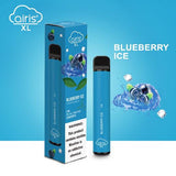 Airis XL Disposable Vape 1200 Puffs Blueberry Ice Flavor (Box of 10)