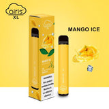 Airis XL Disposable Vape 1200 Puffs Mango Ice Flavor (Box of 10)