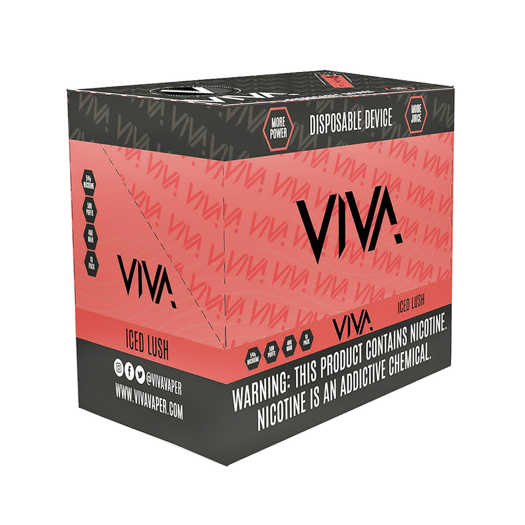 VIVA DISPOSABLE 5% PREMIUM DISPOSABLE VAPORIZER (SINGLE)