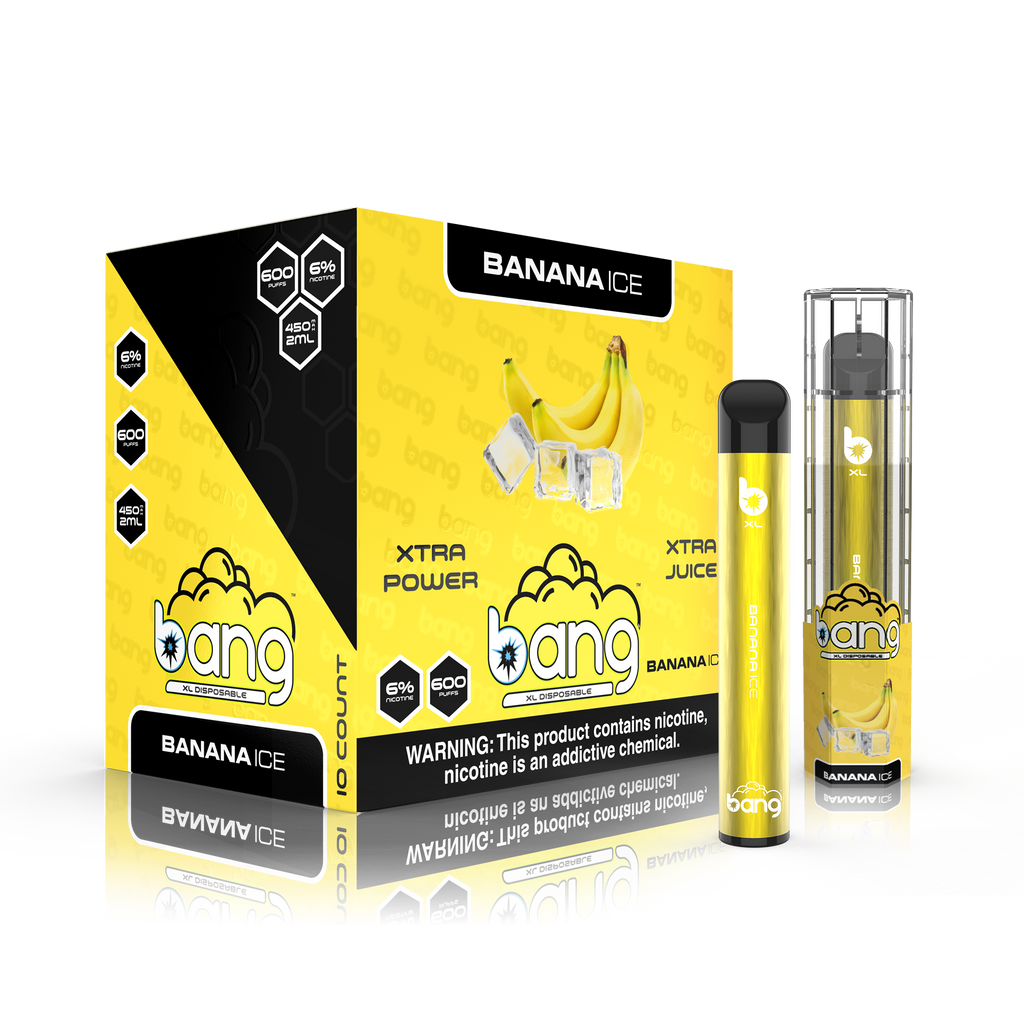 BANG XL XTRA POWER PREMIUM DISPOSABLE VAPORIZER (THREE PACK DEAL)