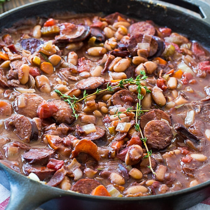 Weeknight Cassoulet