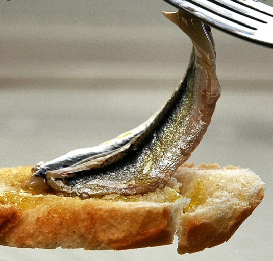 Boquerones (Marinated Anchovies)