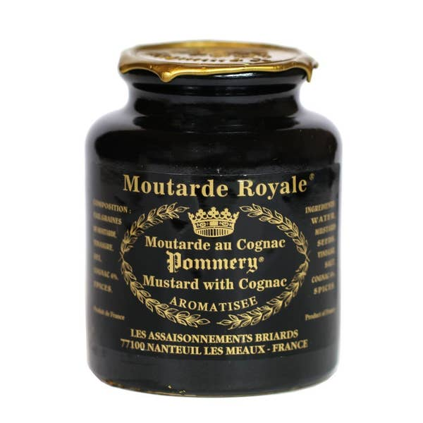 Mustard de Meaux - Pommery - Royal Black Label Cognac - 250gm