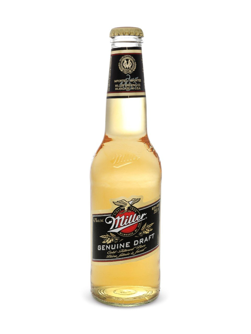341ml - Miller Genuine Draft Bottle