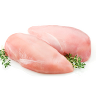 2 x Boneless Skinless Chicken Breasts