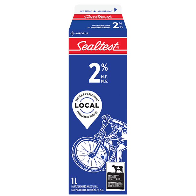 1 x 1L Sealtest 2% Milk