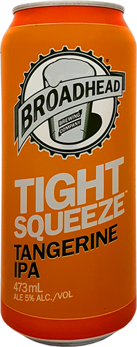 473ml - Broadhead Tight Squeeze Tangerine IPA