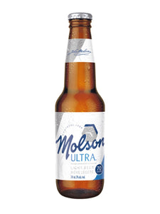 341ml - Molson Ultra Bottle
