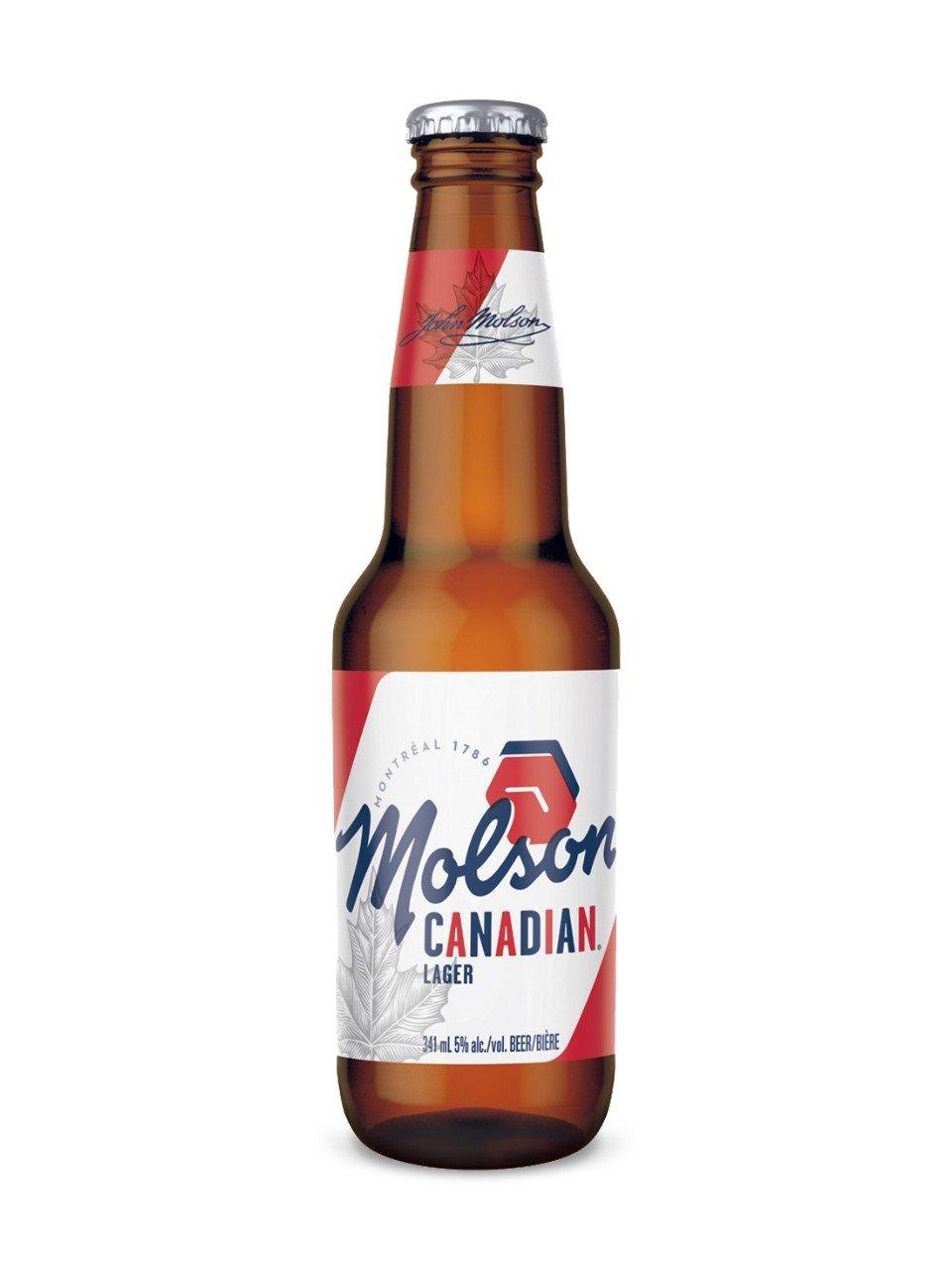 341ml - Molson Canadian Bottle