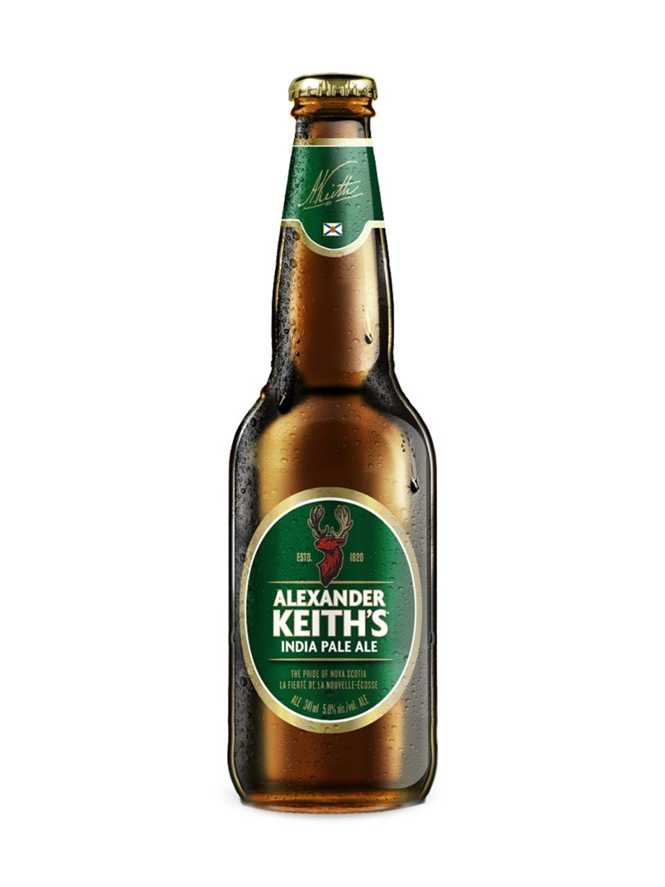 341ml - Alexander Keith's Bottle