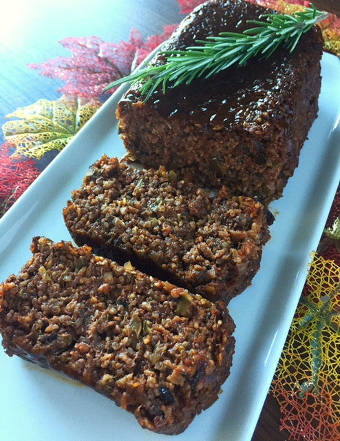 Vegansgiving Recipe Share: Mushroom Walnut Quinoa Loaf