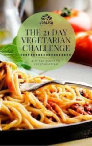 21 Day Vegetarian Challenge E-book
