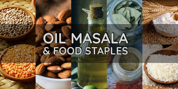 Oil, Masala & Food Staples