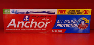 Anchor White Toothpaste