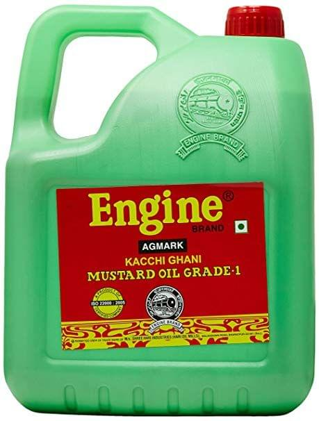 Engine Mustard Oil Jar