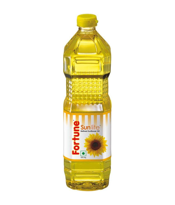 Fortune Sunlite Sunflower Oil Bottle