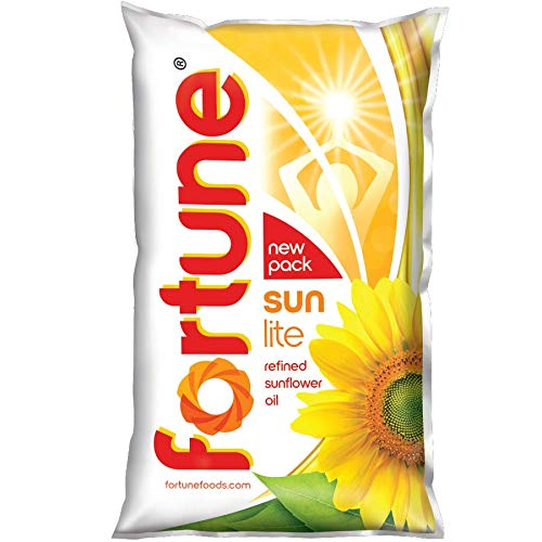 Fortune Sunlite Sunflower Oil Pouch
