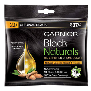 Garner Black Naturals 2.0 Original Black 20ml+20 gm