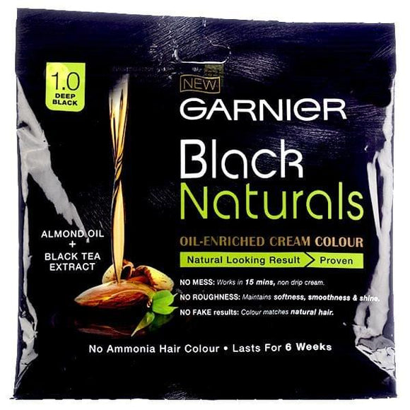 Garnier Black Naturals No. 1.0 Deep Black, 20ml