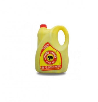 Hathi Mustard Oil Jar