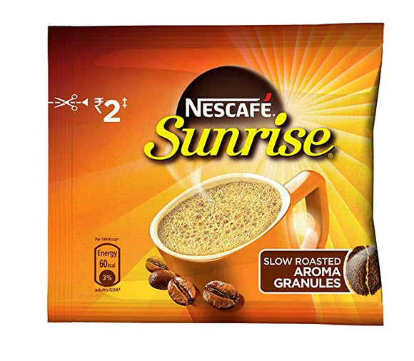 Nescafe Sunrise Coffee sachets