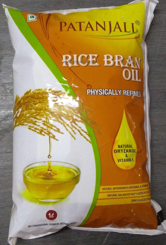 Patanjali Refined Rice Bran Oil