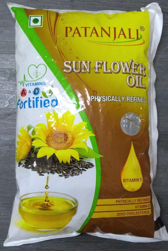 Patanjali Refined Sunflower Oil