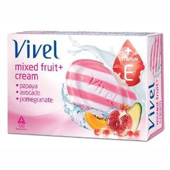 Vivel Mixfruit Cream Soap