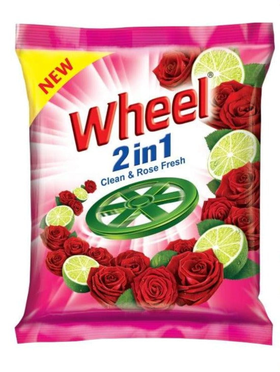 Wheel Active Pink Washing Powder