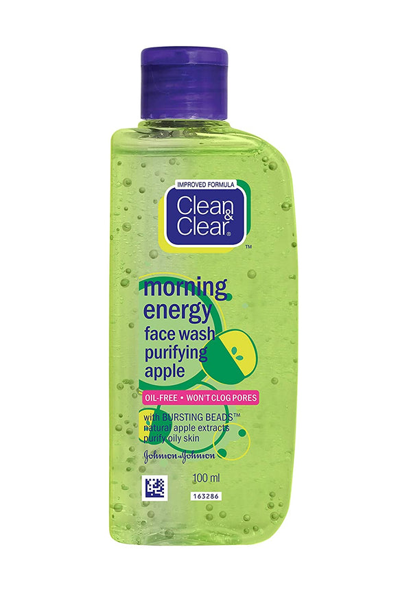 Clean and Clear Morning Energy Apple Face Wash