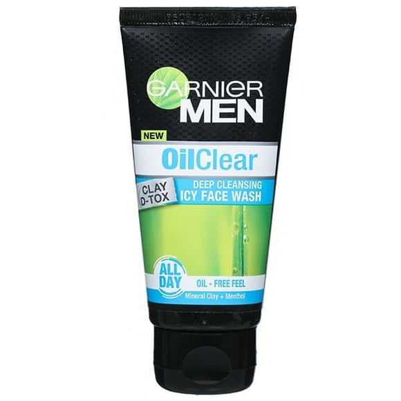 Garnier Men Oil Clear, ICY Face Wash