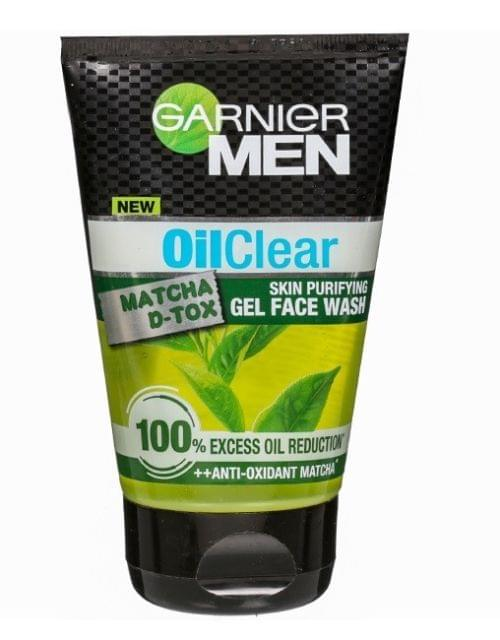Garnier Men Oil Clear Gel Face Wash
