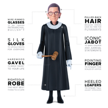 Load image into Gallery viewer, Ruth Bader Ginsburg Action Figure - Americonia