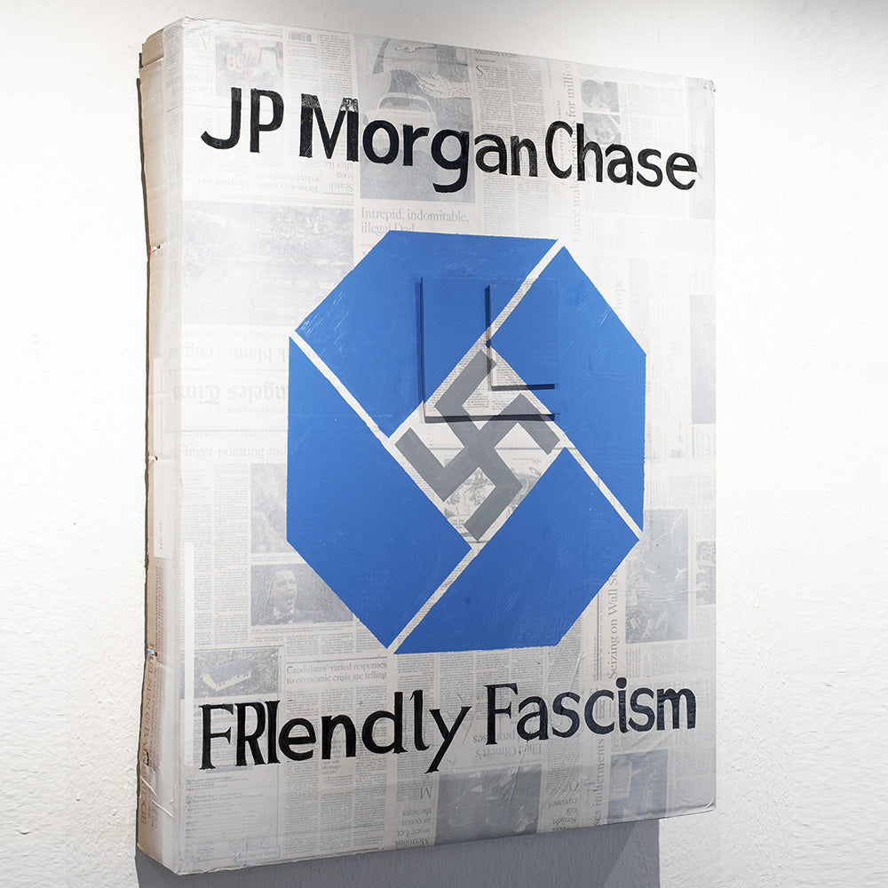KO Panel - JP Morgan Chase Fascism - Americonia