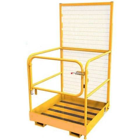 Forklift Safety Cage - Front Gate - [Lifting365.com]