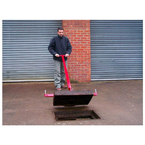 Pivot Lift Manhole Cover Lifter