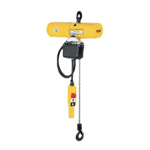 Yale CPS Electric Chain Hoist with Chain Bag