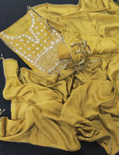 Load image into Gallery viewer, Yellow Gota Patti Work Salwar Suit