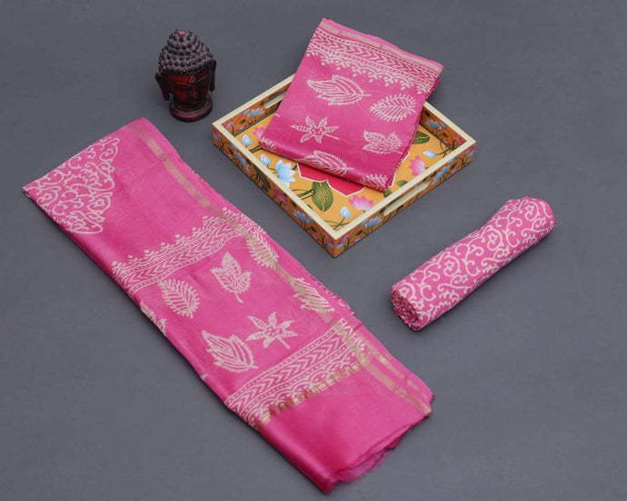 Bagru Chanderi Suit Online, Jaipur Blockprint Suits, Chanderi Salwar Suits