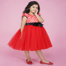Load image into Gallery viewer, Frock For Baby Girl In Red Color