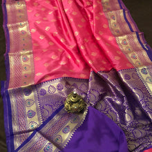 Load image into Gallery viewer, Hotpink upada silk sarees