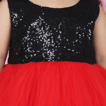 Load image into Gallery viewer, Indian Party Dress For Kids Online In Blackred