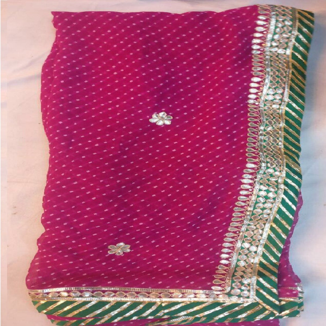 Pink mothra gota patti saree design,rajasthani gota saree, gota patti saree rajasthan