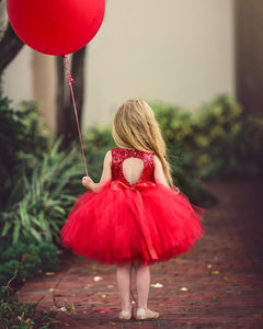 Tutu Dress For 1 Year Old Red Color
