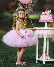 Load image into Gallery viewer, Tutu Dress For Toddler Babypink Color