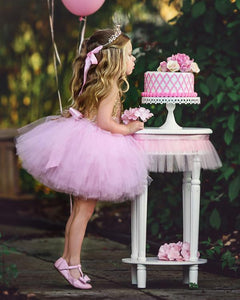 Tutu Dress For Toddler Babypink Color
