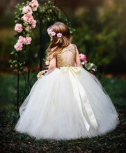 Load image into Gallery viewer, Tutu Dress For Toddler In White Color