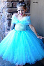 Load image into Gallery viewer, Anna Elsa Tutu Dresses For Girls