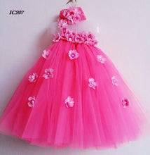 Load image into Gallery viewer, Fuschia Tutu Dresses For Girls